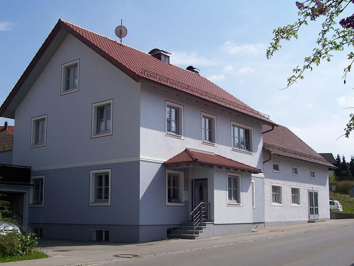 WDVS-Einfamilienhaus
